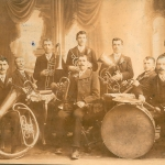 Gründungsmitglieder Musik-Kapelle Plainfeld 1912