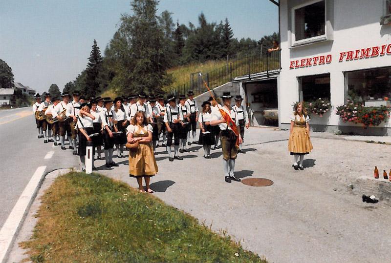 Tag der Blasmusik Hof 1980